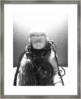 buddh IX  Framed Print by Vah Pall