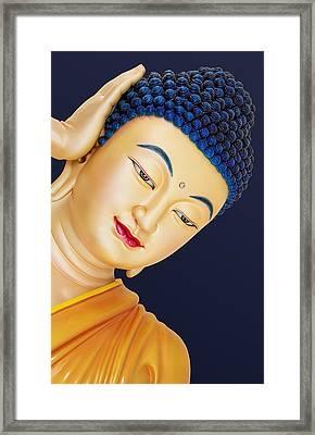Buddha 2 Framed Print by Mark Ashkenazi