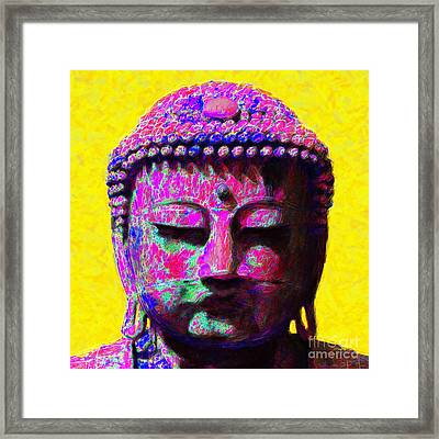 Buddha 20130130m168 Framed Print by Wingsdomain Art and Photography