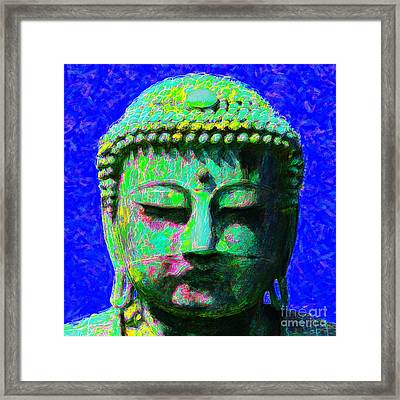 Buddha 20130130p18 Framed Print by Wingsdomain Art and Photography