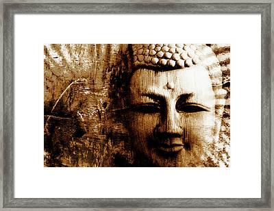 Buddha Abstract Framed Print