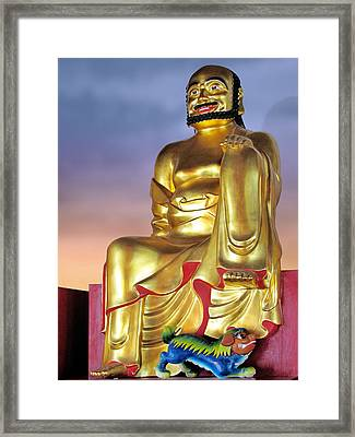 Buddha Framed Print by Christine Till