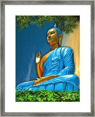 Buddha Daylight Framed Print by Khalil Houri