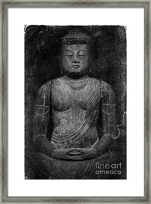 Buddha Framed Print by Edward Fielding