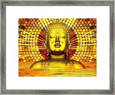 Buddha Effulgence Framed Print