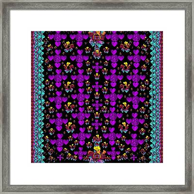 Buddha Have A Big Heart And Smiles Everyday Framed Print