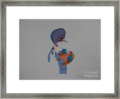 Buddha In The Other Dimension Framed Print by James SheppardIII