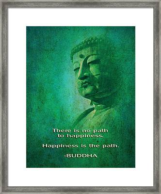 Buddha Framed Print by John Wills