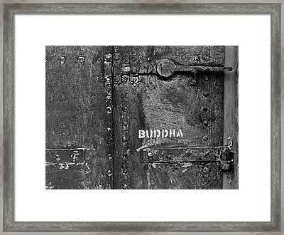Buddha Framed Print by Laurie Stewart