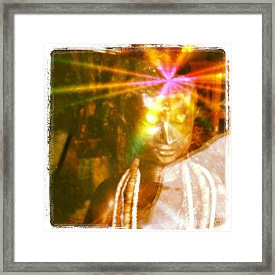 Buddha Light Framed Print