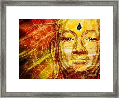 Buddha Mandala Framed Print