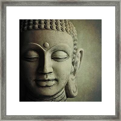 Buddha Framed Print by Photo - Lyn Randle