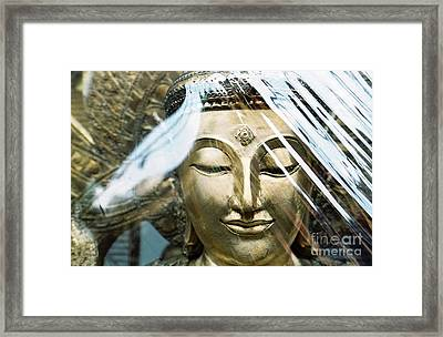 Buddha Protected Framed Print by Dean Harte