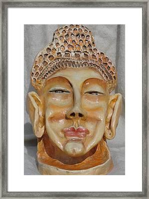 Buddha Framed Print by Rajesh Chopra