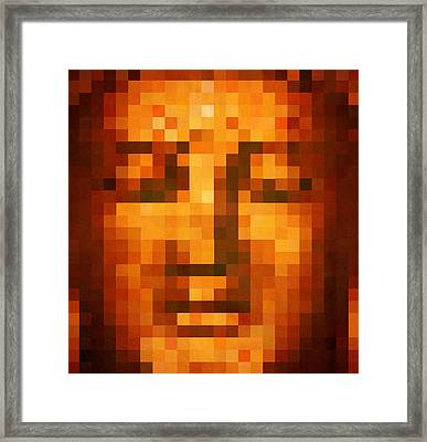 Buddha Framed Print by Art Spectrum