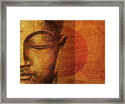 Buddha  Framed Print by Sir Josef - Social Critic -  Maha Art