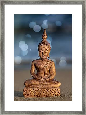 Buddha  Framed Print by Stelios Kleanthous