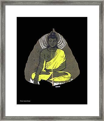Buddha Framed Print by Suhas Tavkar