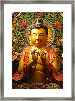 Buddha Framed Print by Susette Lacsina