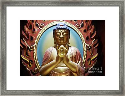 Buddha Tooth Relic Temple 1 Framed Print by Dean Harte