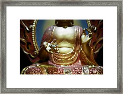 Buddha Tooth Relic Temple 2 Framed Print by Dean Harte