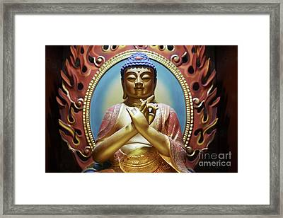 Buddha Tooth Relic Temple 3 Framed Print by Dean Harte