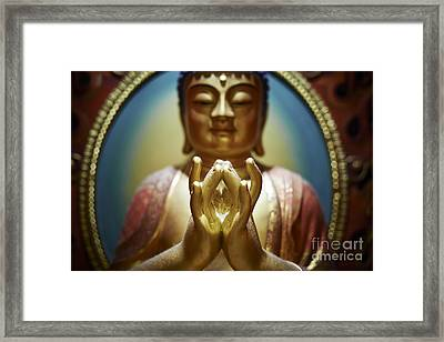 Buddha Tooth Relic Temple 4 Framed Print by Dean Harte