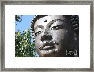 Framed Print featuring the photograph Buddha by Wilko Van de Kamp