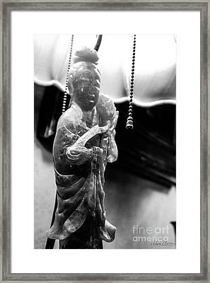 Buddha's Light Framed Print