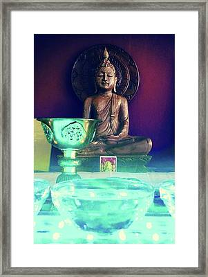 Buddhism Framed Print by Contemporary Art