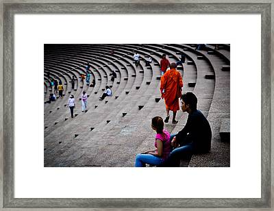 Buddhist Framed Print