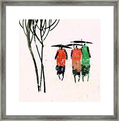Buddies 3 Framed Print by Anil Nene