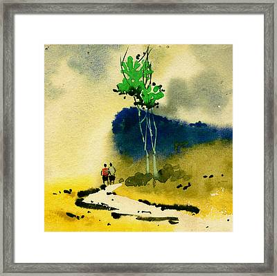 Buddies Framed Print by Anil Nene