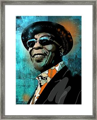 Buddy Guy Framed Print