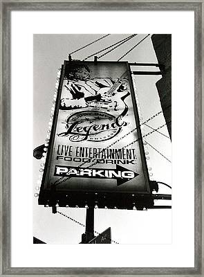 Buddy Guys Chicago Framed Print by Jennifer Firak