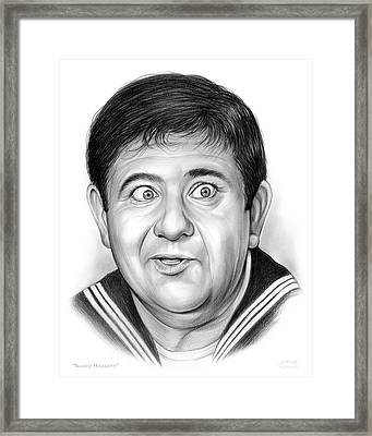 Buddy Hackett Framed Print