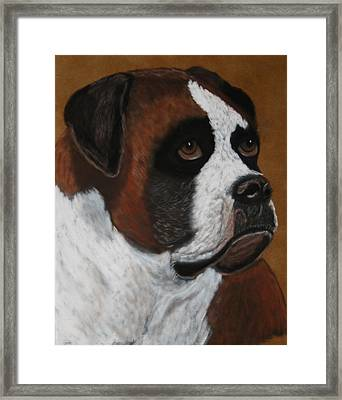 Buddy Framed Print by Lori DeBruijn