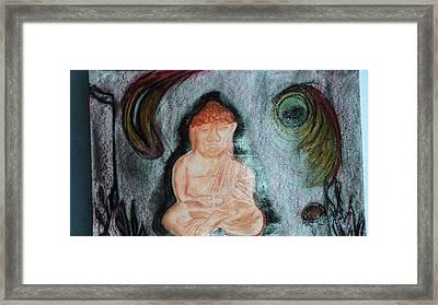 Budita Framed Print by Kasper Castillo