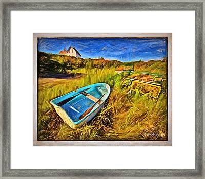 Budks Harbor #1,machiasport, Maine Framed Print by Dave Higgins
