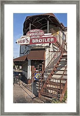 Bud's Broiler New Orleans Framed Print