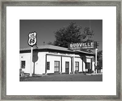 Budville Trading Co. Framed Print by Eric Foltz