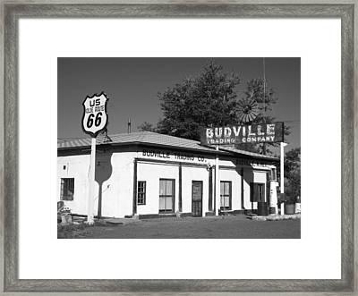 Budville Trading Co. Framed Print
