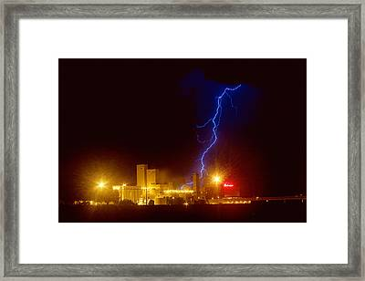 Budweiser On Strike Framed Print by James BO  Insogna