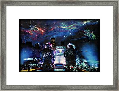 Eyyodj Framed Print by Annalise Kucan