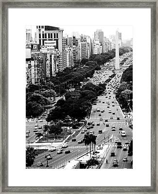 Buenos Aires Framed Print