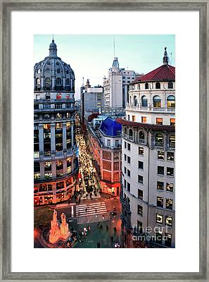 Buenos Aires Street I Framed Print