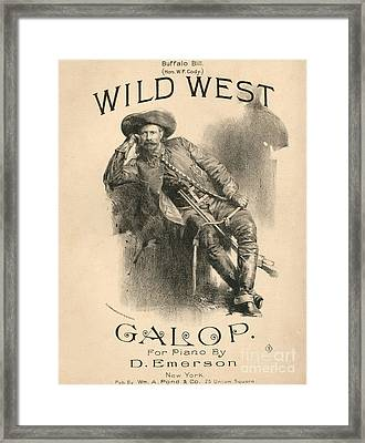 Buffalo Bill Framed Print