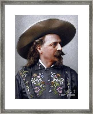 Buffalo Bill Cody Framed Print