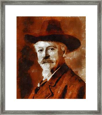Buffalo Bill Framed Print by Mary Bassett
