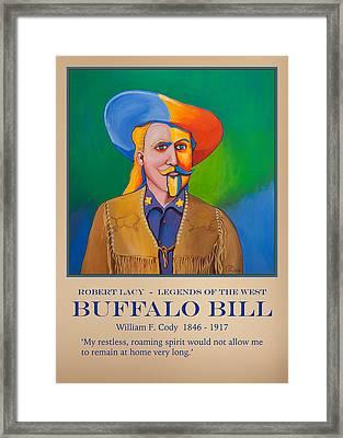 Buffalo Bill Poster Framed Print